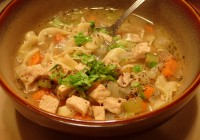 Easy Turkey Noodle Soup Ready To Eat