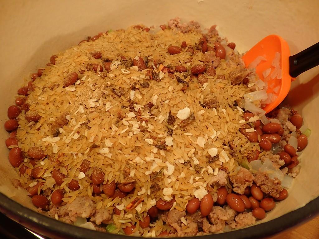 Add Dirty Rice Mix