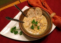 Sausage Potato Corn Chowder