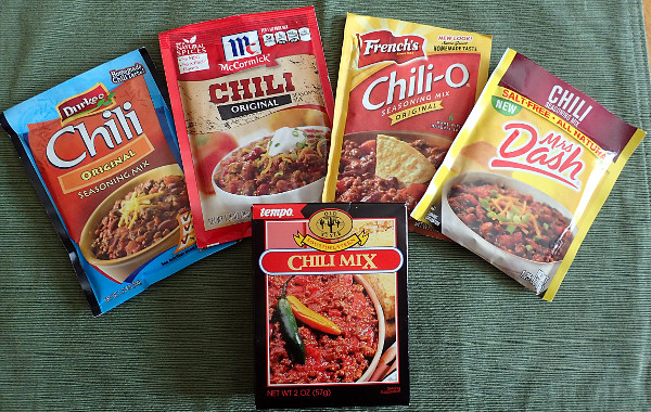 What Is The Best Chili Seasoning Packet Mix Esouprecipes