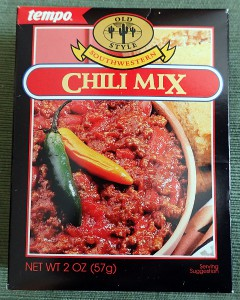 Tempo Chili Mix