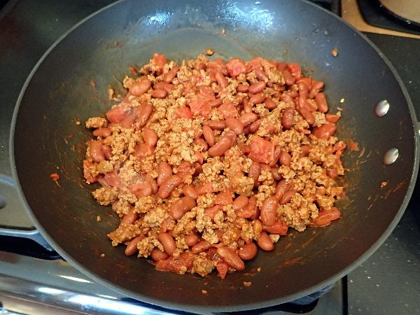 Mix chili ingredients thoroughly