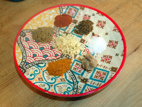 Biryani soup spice mixture